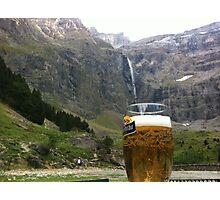 Natural Beer Tap Photographic Print