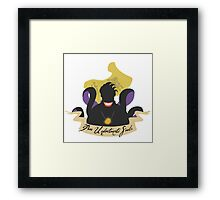 Ursula's Contract Framed Print