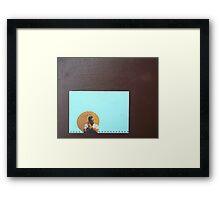 The Golden Hour Framed Print