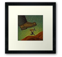 The Fix is in Framed Print