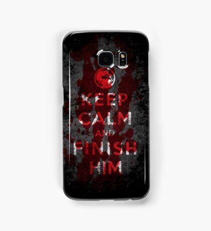 Keep Calm and Finish Him Samsung Galaxy Case/Skin