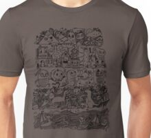 Many Layers of Doodle Unisex T-Shirt