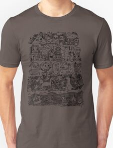 Many Layers of Doodle T-Shirt