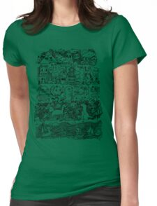 Many Layers of Doodle Womens Fitted T-Shirt