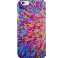 SPLASH, Revisited - Bold Beautiful Feminine Romance Ocean Beach Waves Abstract Acrylic Magenta Crimson iPhone Case/Skin