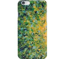 IRISH SUNRISE - Beautiful Vancouver Bold Lime Kelly Forest Green Sunrise Sunset Abstract Nature Painting iPhone Case/Skin