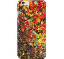 END OF THE RAINBOW - Bold Multicolor Abstract BC Colorful Nature Inspired Sunrise Sunset Ocean Beach Theme iPhone Case/Skin