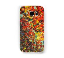 END OF THE RAINBOW - Bold Multicolor Abstract BC Colorful Nature Inspired Sunrise Sunset Ocean Beach Theme Samsung Galaxy Case/Skin