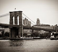 Timeless Brooklyn Bridge by SARA0608
