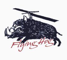 Flying Hog! by valizi
