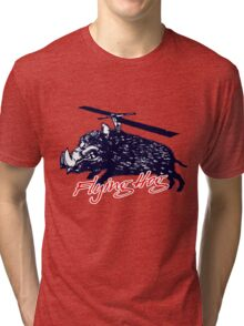 Flying Hog! Tri-blend T-Shirt