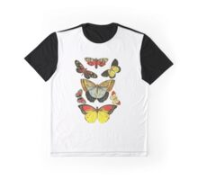 Vintage Butterfly Collection Graphic T-Shirt
