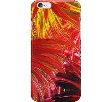 FIREWORKS IN RED - Stunning Bright Bold Acrylic Autumn Colors Leaves Fall Festival Firecrackers Lights iPhone Case/Skin