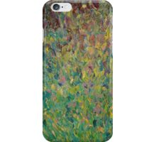FIELDS OF BLUE - WOW Modern Abstract Shades Blue Green Nature Theme Grass Waves iPhone Case/Skin