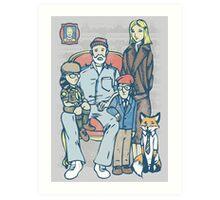 Anderson Family Portrait Art Print