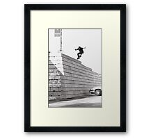 JUB-mega drop in Chicago by Andrew Hutchison Framed Print