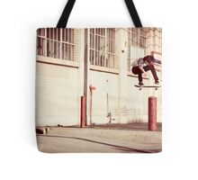 Austyn Gillette - Backside Flip - Los Angeles - Photo Aaron Smith Tote Bag