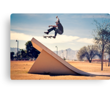 Ray Barbee - 360 Flip - Arizona - Photo Aaron Smith Metal Print