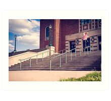 Dan Lutheran - 50-50 - Kansas City - Photo Aaron Smith Art Print