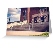 Dan Lutheran - 50-50 - Kansas City - Photo Aaron Smith Greeting Card