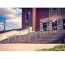 Dan Lutheran - 50-50 - Kansas City - Photo Aaron Smith Photographic Print