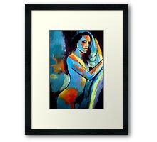"""Sexy girl"" Framed Print"