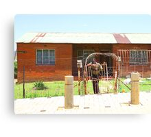 House in Soweto, South Africa Canvas Print