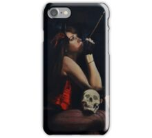 Pensees Macabre (macabre thoughts) iPhone Case/Skin