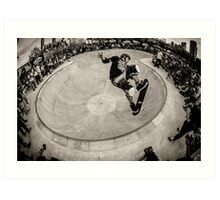Christian Hosoi - Air - New York - Photo Aaron Smith Art Print