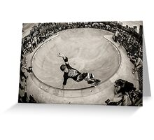 Christian Hosoi - Layback Smith Grind - New York - Photo Aaron Smith Greeting Card