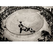 Christian Hosoi - Layback Smith Grind - New York - Photo Aaron Smith Photographic Print