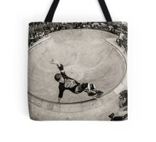 Christian Hosoi - Layback Smith Grind - New York - Photo Aaron Smith Tote Bag
