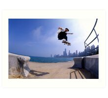 Patrick Melcher-Chicago photo by Andrew Hutchison Art Print