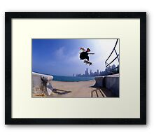 Patrick Melcher-Chicago photo by Andrew Hutchison Framed Print