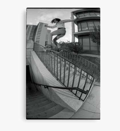 Steve Fauser-Chicago Photo Andrew Hutchison Canvas Print