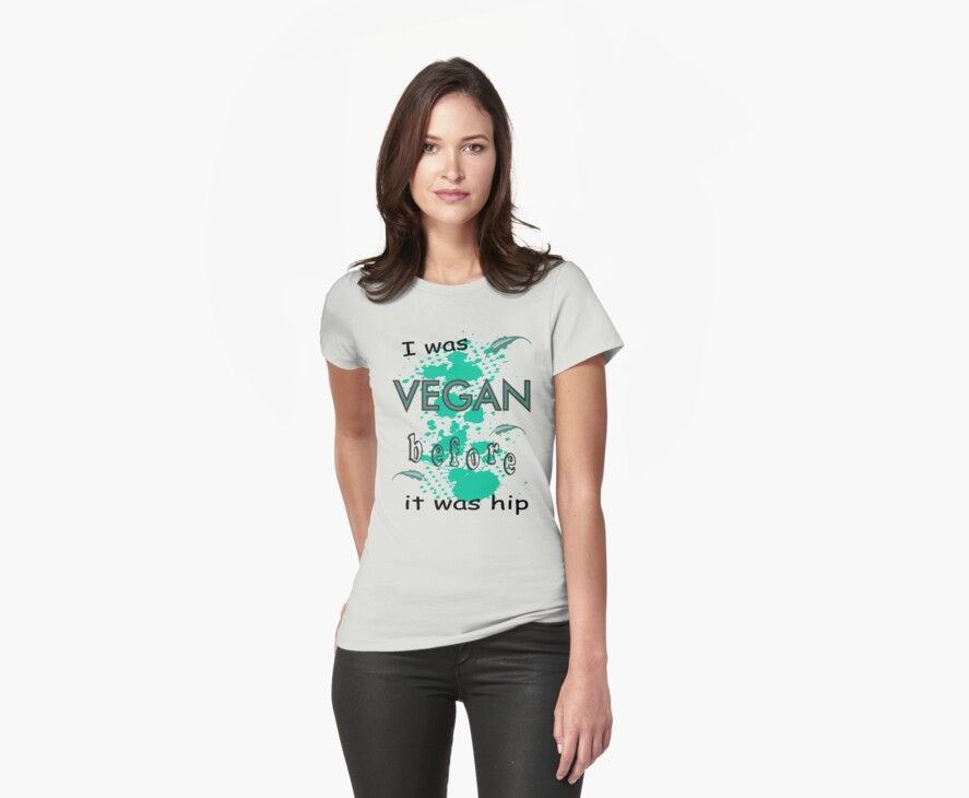 Vegan before it was hip by veganese