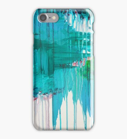 BLUE MONSOON - Stunning Rain Storm Dark Teal Clouds Vancouver Navy Royal Blue Kelly Green Crimson Red Purple iPhone Case/Skin