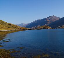Barrisdale Bay near Arnisdale, Highlands, Scotland by fg-ottico