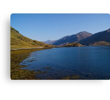 Barrisdale Bay near Arnisdale, Highlands, Scotland Canvas Print