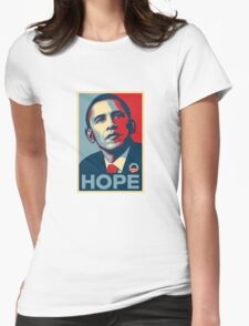 Obama Womens Fitted T-Shirt