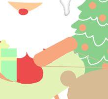 Santa #1 Sticker