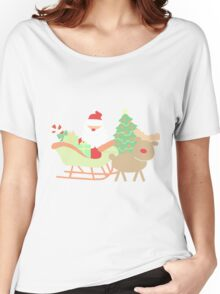 Santa #1 Women's Relaxed Fit T-Shirt