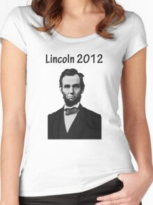 Lincoln 2012 Women's Fitted Scoop T-Shirt