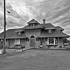 Brigham City Train Depot by thecameraman