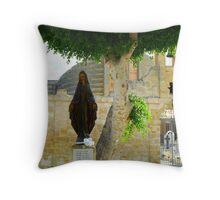 St Mary of Tarxin Throw Pillow