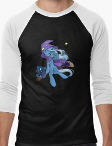 The Great and Powerful Trixie Men's Baseball ¾ T-Shirt