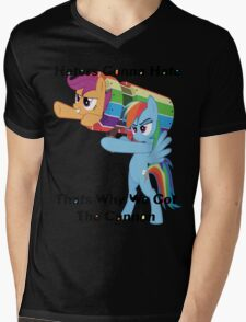 Party Cannon For The Haters  Mens V-Neck T-Shirt