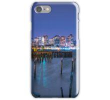 Boston Skyline and Harbor iPhone Case/Skin