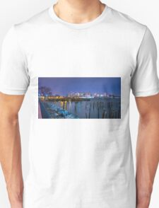 Boston Skyline and Harbor Unisex T-Shirt
