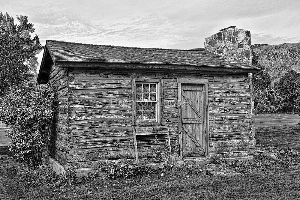 Pioneer Homestead 1855 by Brenton Cooper